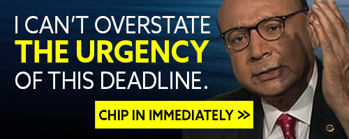 """Khizr Khan: """"I can't overstate the urgency of this deadline."""" Chip in immediately >>"""