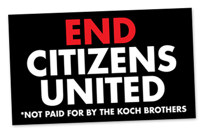 FREE End Citizens United Stick...