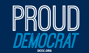 Free Proud Dem Sticker