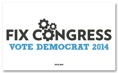 FREE 'Fix Congress' Bumper...